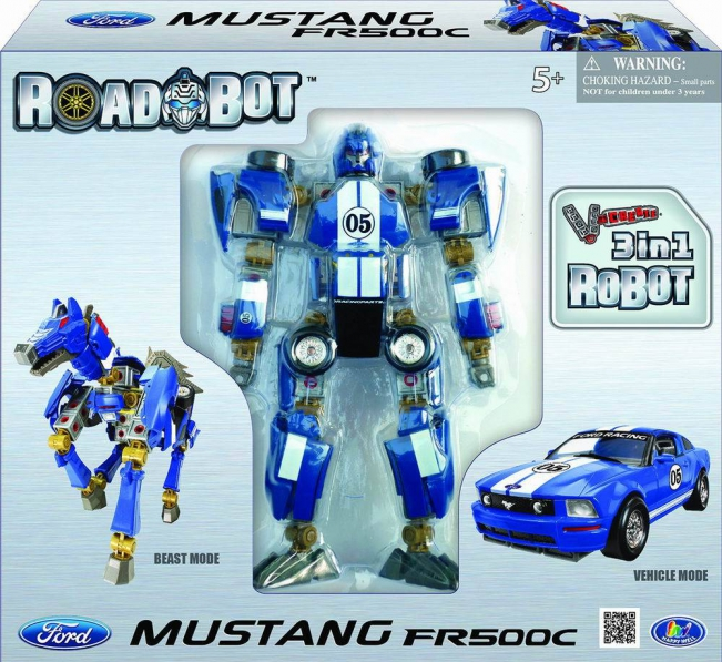 �����-����������� Happy Well Ford Mustang FR500C 1:24 54050hw