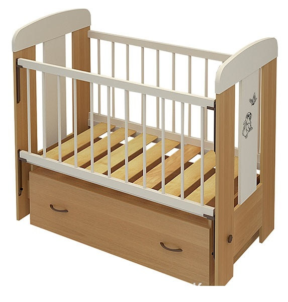 Кроватка Алмаз-Мебель