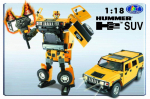 ����� Happy Well Hummer Roadbot, 1:18, ����, ���� 50120hw