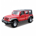 Bburago 1:32 Сборка WRANGLER UNLIMITED RUBICON 18-45121