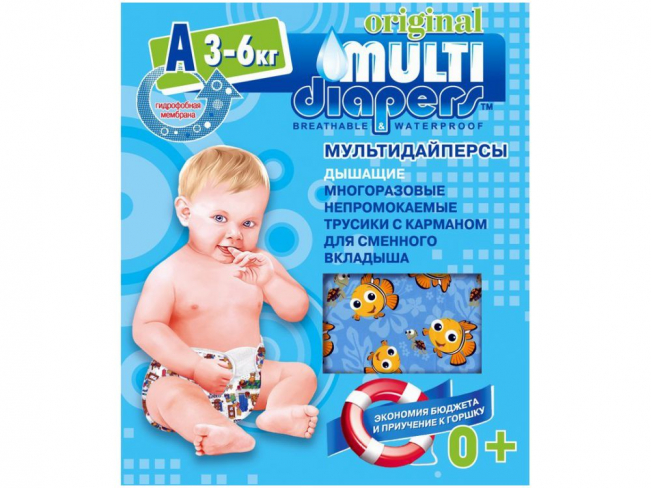 "������������ ��������� Multi-Diapers ""�"" 3-6��."