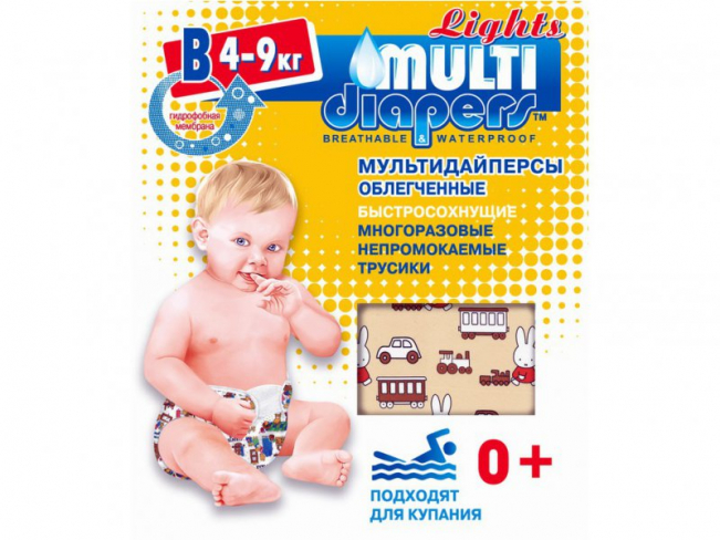 """������������ ��������� Multi-Diapers Lights """"�"""" 4-9��."""