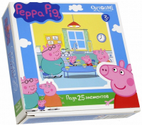 Пазлы Origami Peppa Pig. 25A 1581