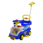 Каталка Baby Care Fire Engine Синий (Blue) 530W