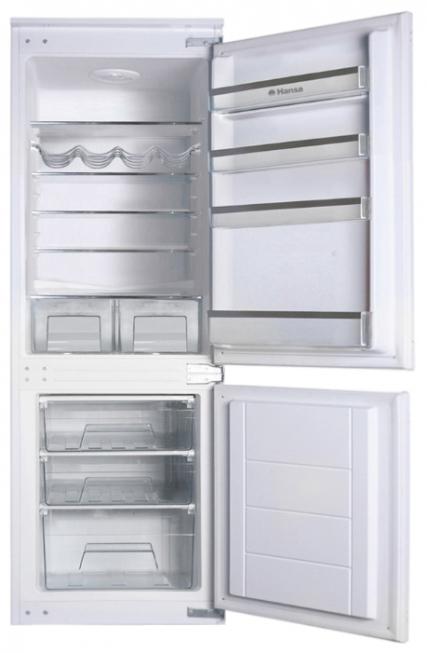 Двухкамерный встраиваемый холодильник Hansa