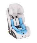 Автокресло Leader Kids Verona Isofix (9-36кг) Grey+Light Blue (сер+голуб)