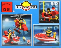 Конструктор ENLIGHTEN (Brick) Fire Rescue, 111 дет, 902 Г45468