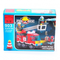 Конструктор ENLIGHTEN (Brick) Fire Rescue, 130 дет, 903 Г45469