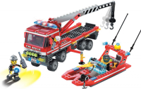 Конструктор ENLIGHTEN (Brick) Fire Rescue, 420 дет, 907 Г45473
