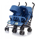 Коляска Baby Care для двойни City Twin (Blue) BT1106T