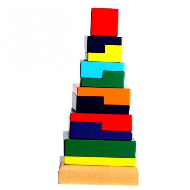 Развивающая игрушка Мир деревянных игрушек