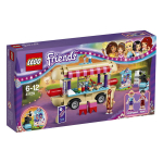 Конструктор LEGO FRIENDS Парк развлечений: фургон с хот-догами 41129