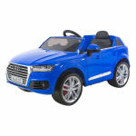 Электромобиль SHINE RING Audi Q7, 12v/10ah, eva (синий) (покраска) painted bluesr159