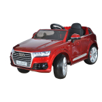 Электромобиль SHINE RING Audi Q7, 12v/10ah, eva (красный) (покраска) painted redsr159