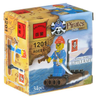 Конструктор ENLIGHTEN (Brick) Pirates Series, 34 дет., 1201 Г79582