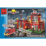 Конструктор ENLIGHTEN (Brick) Fire Rescue, 380 дет, 910 Г45476